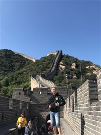 MRSC on the  Great  Wall of  China